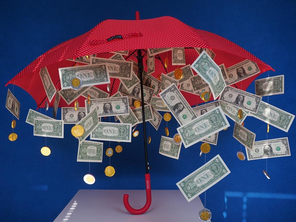 pioggia di soldi